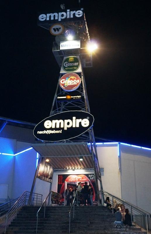 1 empire Eingang