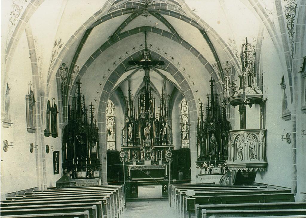 Kirche 1943 Waldhof 2
