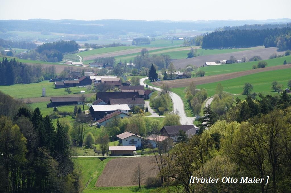 8 Aussicht nach Pfarrkirchen
