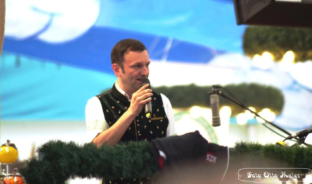 Bürgermeister Markus Hofmann