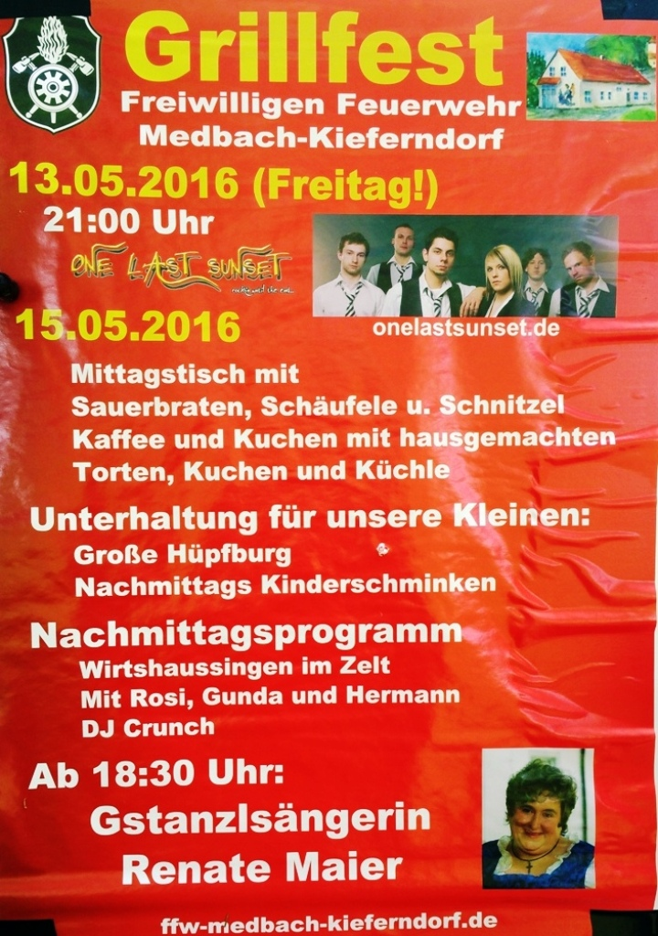 Medbach Plakat