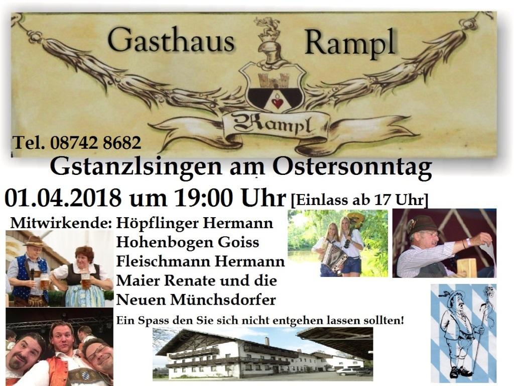 Rampl Plakat 2018 Ostern Original