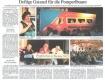 Zeitungsauschnitt von Renate bei den Pomperlbuam